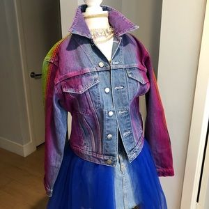 Jordache Rainbow Jacket